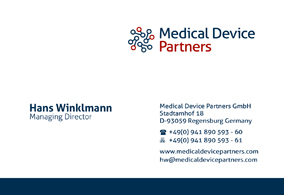 Medical Device Partners GmbH / Corporate Design